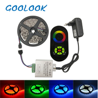 SMD 5050 RGB LED Strip Light 60Leds M LED Flexible Tape Rope Lights 18A Wireless