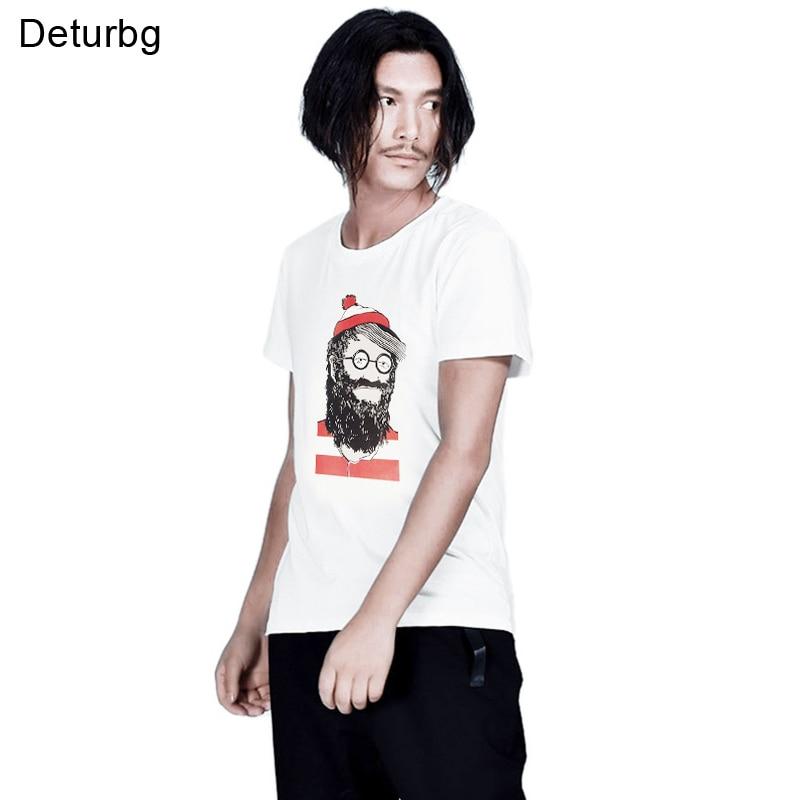 We Got Him Cartoon Gedrukt T-shirt Mannen Korte Mouw T-shirt 100% - Herenkleding