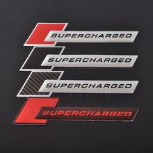 Etiqueta do carro emblema auto emblema decalque para land rover range rover supercharged audi a3 a4 a5 a6 q3 q5 q7 rs s3 s4 s5 s6 s8 estilo