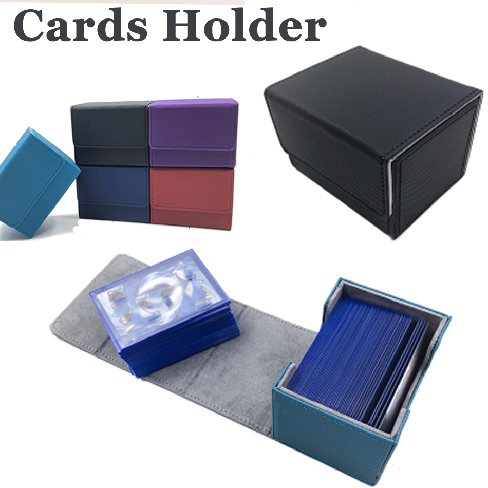 Trading Cards Capacity Box Board Game Cards Case Container Collection For Pokemon CCG MTG TCG Magic Board Game Sleeve Holder Box