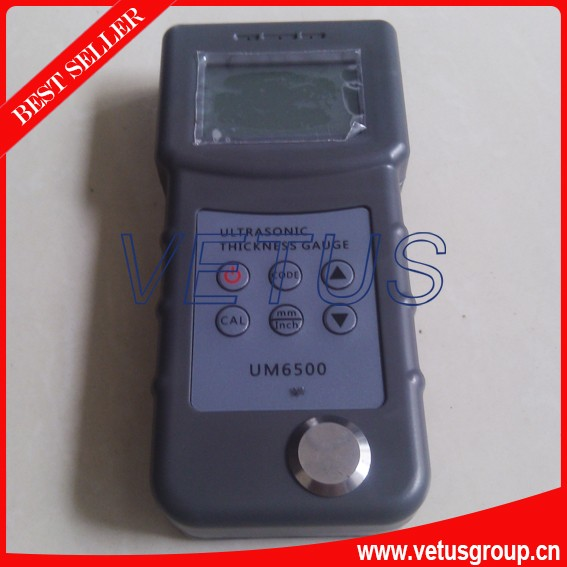 Ultrasonic Thickness Gauge with Measuring range 1.0-245mm UM6500 measuring range 0