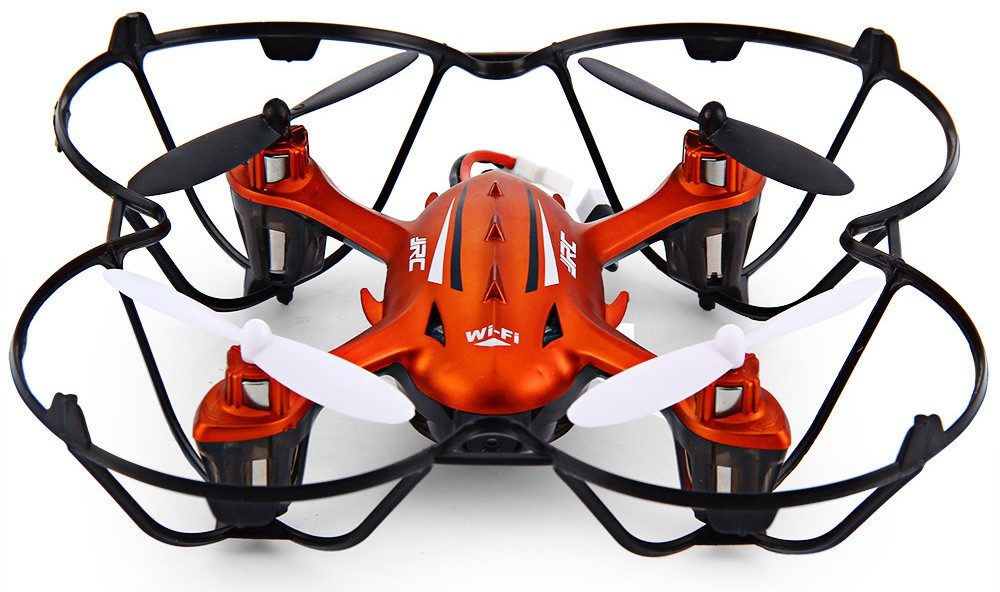Mini JJRC H6W RC Drone with WIFI camera Real-time FPV Transmission 6 Axis Gyro RC Helicopter One Press Return Quadcopter dron syma x5sw fpv dron 2 4g 6 axisdrones quadcopter drone with camera wifi real time video remote control rc helicopter quadrocopter