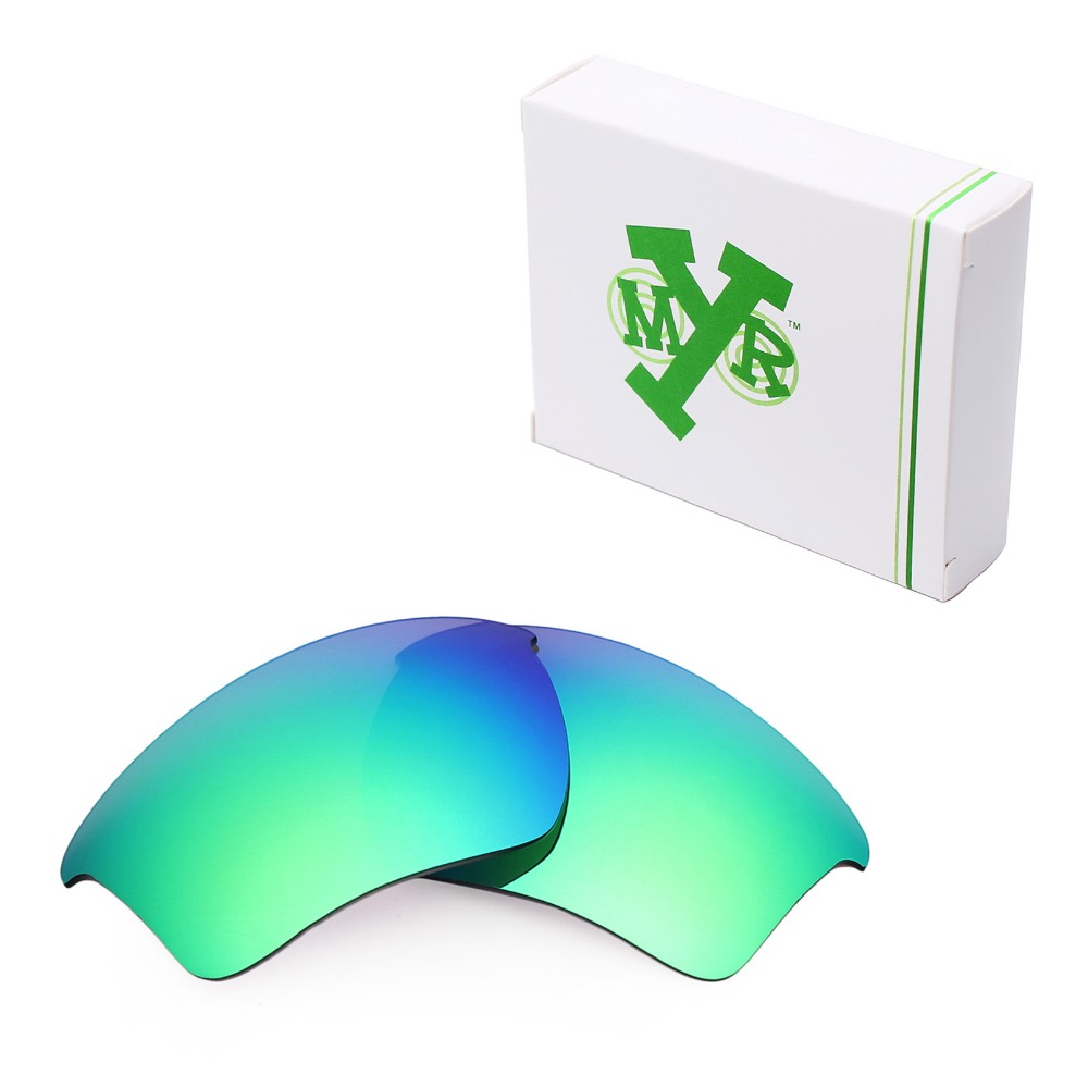 f4f6a089a15 Mryok POLARIZED Replacement Lenses for Oakley Half Jacket 2.0 XL Sunglasses  Emerald Green