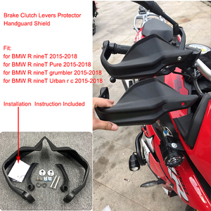 for BMW R nineT Pure grumbler urban Hand Guards Brake Clutch Lever Protector Handguard Shield for BMW 2015-2018 R nine T pure