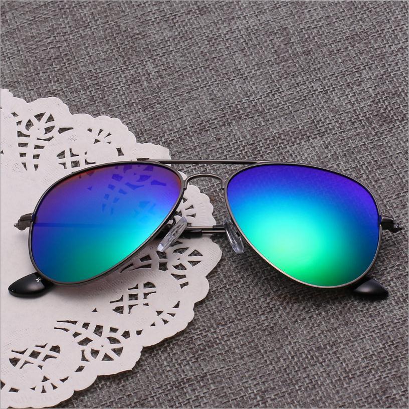 Clásico piloto Gafas de sol para niños Marco de metal tan fresco - Accesorios para la ropa - foto 4