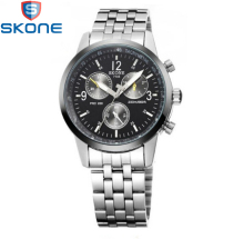 New Arrival  Skone Men Watches Brand Luxury Men Military Wrist Watches Full Steel Men Sports Watch Waterproof Relogio Masculino