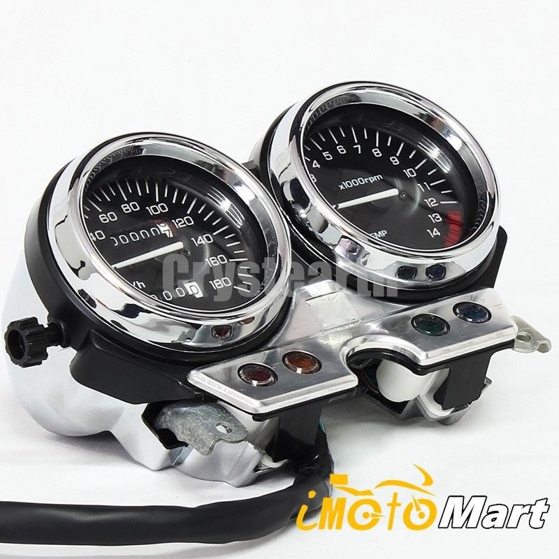 Moto jauge horloges compteur de vitesse odomètre Instrument Kit d'assemblage pour Honda CB 400 CB400 sf 1993 1994 NC31