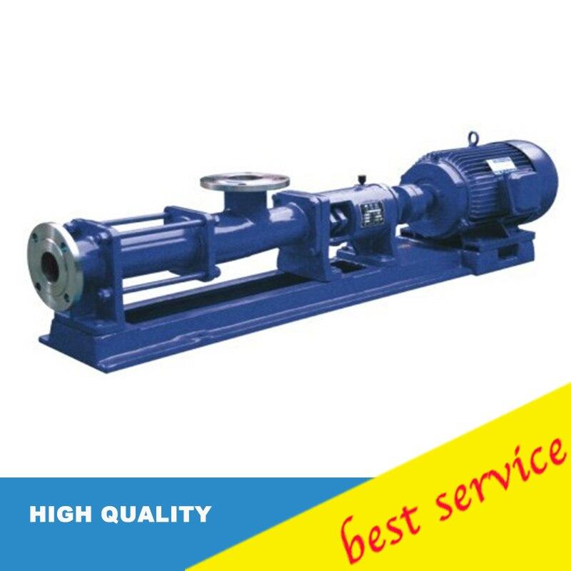 1hp G 20 0 75kw Stainless Steel Single Screw Pump