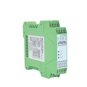 Image 4 - 485 Hub 4 ports Isolation optique 1 voie RS232 à 4 voies RS485 Module de Type Rail de moyeu de qualité industrielle