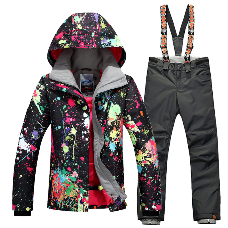 For -30Degree Gsou Snow Brand High Quality Winter Outdoor Sport Women - Sportswear and Accessories