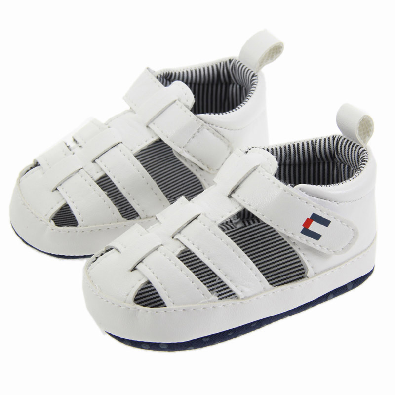 Summer 0-18 months baby boy girl pure color sandals soft bottom breathable comfortable baby shoes Non-slip kids toddler shoes