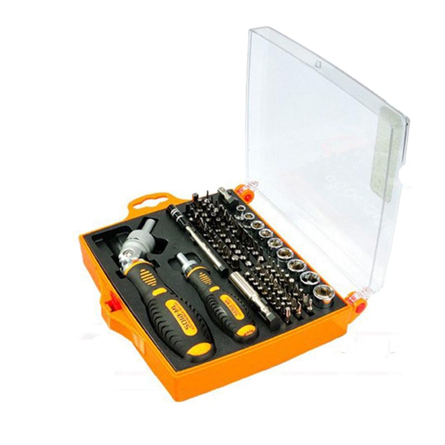 79 en 1 cliquet professionnel outil à main tournevis électrique ensembles multi-fonction kit d'outils de réparation pour iPhone pour iPad MacBook JM-6108