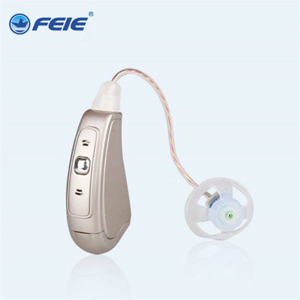 Ear Care Digital Hearing Aid In Ear Amplifier Surdez MY-19 Programmable Hearing Equipment For Severe Hearing Loss Free Shipping programmable digital 6 channels ric reaceiver in the ear canal hearing aids with battery 312 my 19
