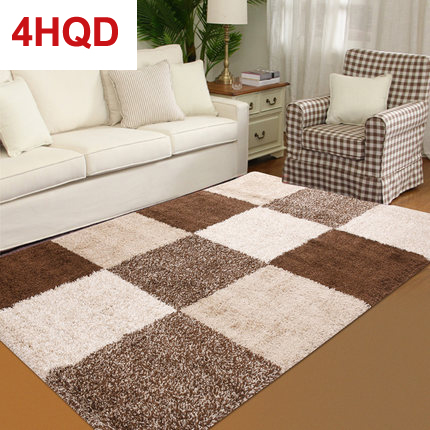 Modern minimalist living room rug sofa coffee table bedroom bedside carpet thick hair imported Calona series