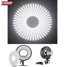 LED Ring Light 3000K-7000K Adjustable Camera Photo/Video Fluorescent Flash Light  LED Ring Ligthing Photo Studio