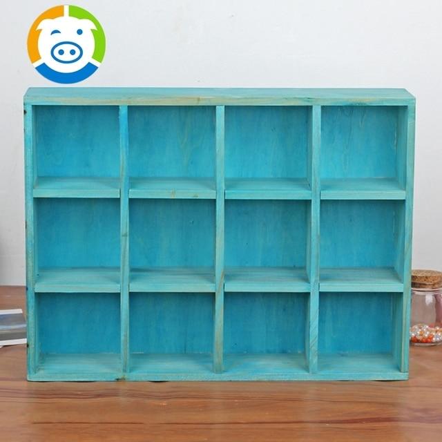 Zakka Groceries Home Shelf Daily Wooden Dish Rack Display Cabinet Shelf  Storage Cabinet Storage Debris Jewelry
