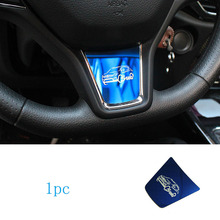 1pc for dongfeng S560 Steering wheel Decoration sticker