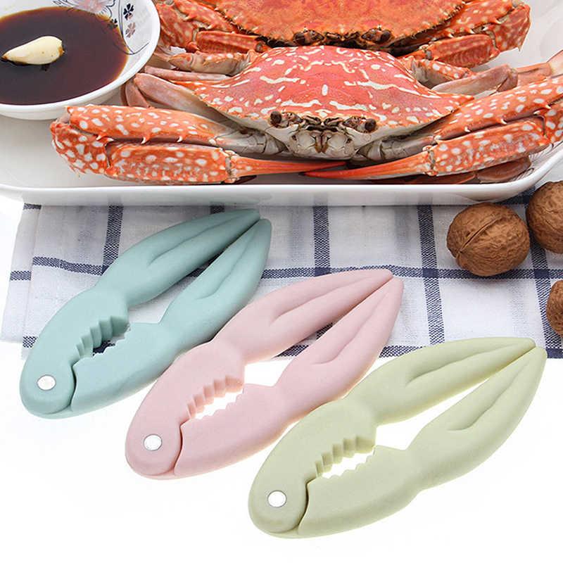 Novo multi-função nutcracker ferramentas de cozinha frutos do mar caranguejo garra clipe noz amêndoa gadget acessórios caranguejo comer ferramentas
