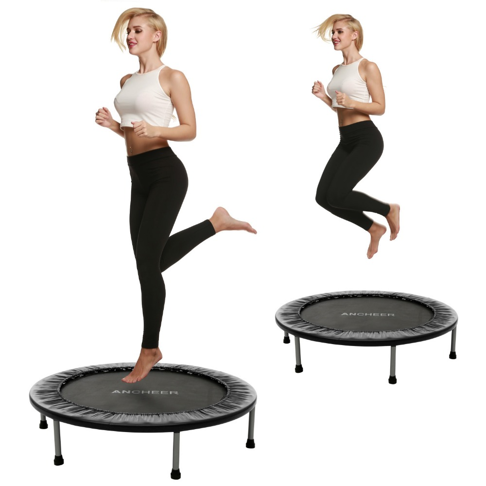 102cm/40inch Trampoline For Child Folding Trampoline with Safety Pad Trampoline Sports Foldable Treampoline цена