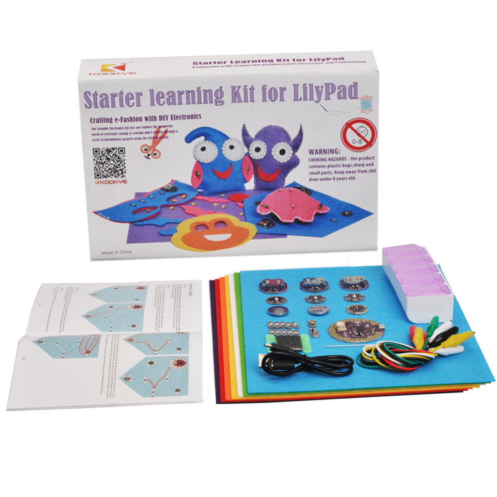 Osoyoo starter learning kit for arduino lilypad us