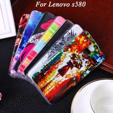 Soft TPU Phone Case For Lenovo S580 S 580 5.0 inch Case For Lenovo S 580 Cover Shell phone Cover Bags Hoods Housings
