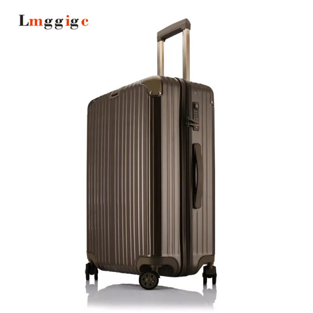 PC+ABS Luggage,Zipper Carry-Ons,High-quality Anticollision Rolling Suitcase,Universal wheels TSA Lock Large-capacity travel Box