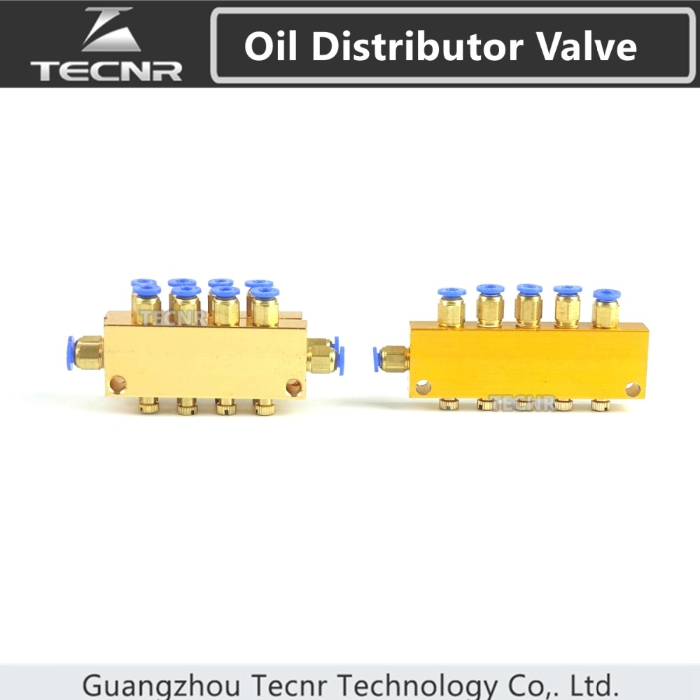 Oil Distributor Valve For CNC Engraving Machine