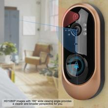 1080P HD Low Power Smart Wireless WIFI Video Doorbell Security PIR Camera Doorbell wireless bluetooth and wifi smart home hd video doorbell camera phone ring security camera monitor
