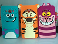 Caso para samsung j1 j3 j5 j7 a3 a5 a7 2016 j1 j5 j7 A8 S5 S6 S7 S7562 G530 G360 I9082 Sulley Tiger Cat Silicona Suave Cubierta P15