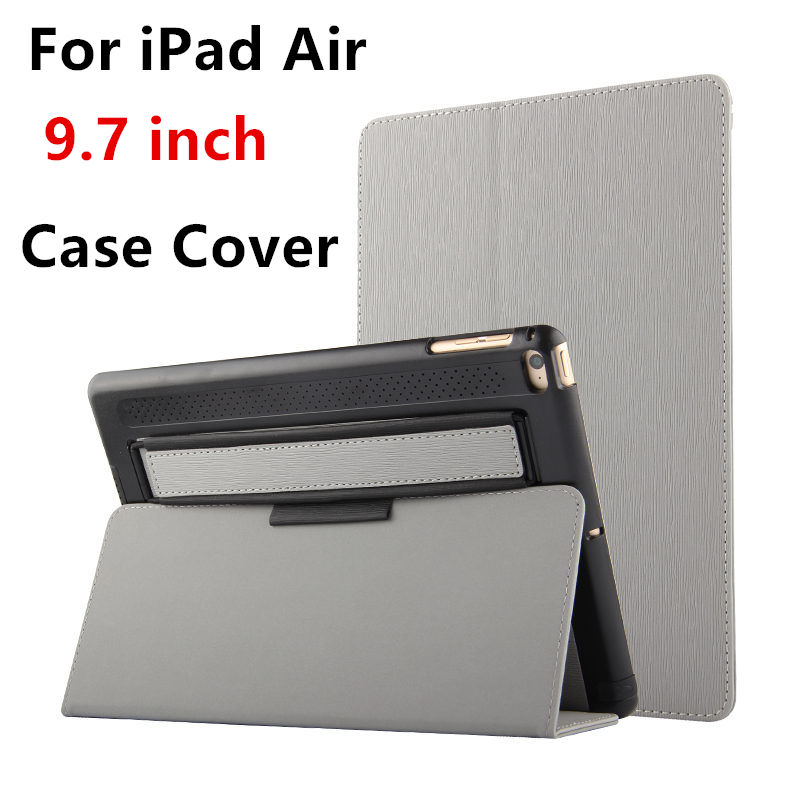 Case For Apple iPad Air 1 Protective Smart cover With Stand Card PU Leather Protector For iPad air 5 Tablet PC 9.7inches Cases flip left and right stand pu leather case cover for blu vivo air