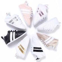 Новинка; повседневная спортивная обувь для маленьких мальчиков и девочек; унисекс; повседневная обувь на мягкой подошве со шнуровкой; 0-18 месяцев