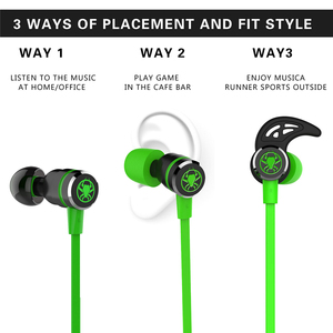 Image 2 - PLEXTONE G20 Earphones Gaming Magnetic Stereo In Ear Earphone Computer Earbuds With Microphone Headset For phone PC