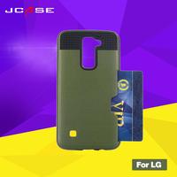 Luxury Fashion 2 In 1 PC Soft Silicone Cell Phone Case For LG K8 Unbreak Mobile