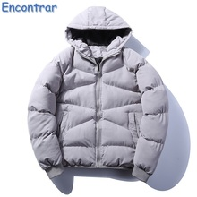 Здесь можно купить  Encontrar Winter Parka Men Warm Coat Cotton-Padded Outwear Mens Coats Hooded Collar Slim Fit Thick Parkas Plus Size 5XL,QA384