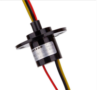 Wind Power Large Current Slip Ring 3 Channel 5A Slipring Conductive Capsule Slip Ring SRC 22