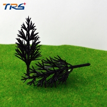 LA 60 ARCHITECTURAL 500pcs free shipping Scale Train Layout Set Model Scale Trees in size 6cm