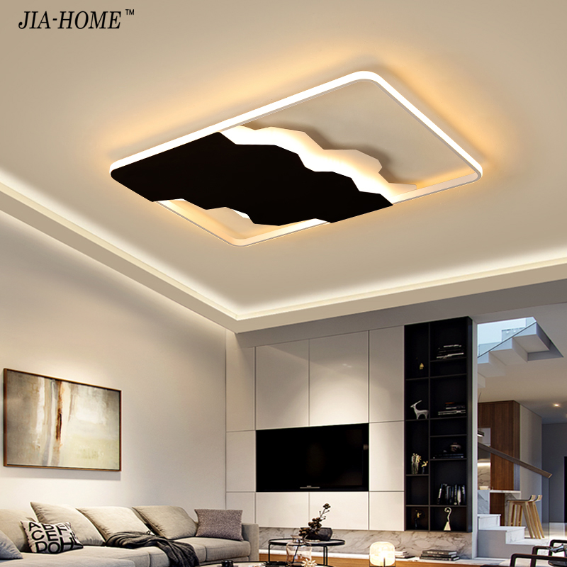 New design Modern Led Ceiling lamps for living room Bedroom lighting ceiling room light plafond lamp Led Ceiling lights fixtures chandeliers lights led lamps e27 bulbs iron ceiling fixtures glass cover american european style for living room bedroom 1031