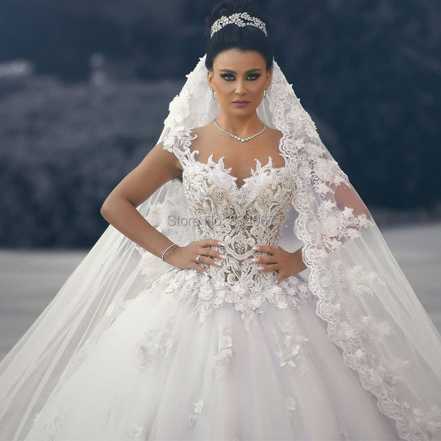 Elaborate Wedding Dresses