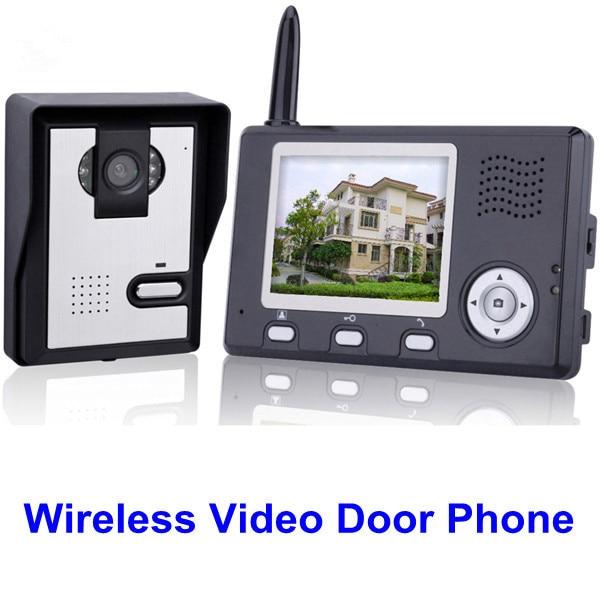 3.5のホームセキュリティ2.4Gの無線ビデオドアの電話の通話装置のドアベルのカメラ