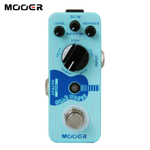 MOOER תינוק מים אקוסטית גיטרה עיכוב & פזמון דוושת לבחור חמש שונה סוגי השפעה