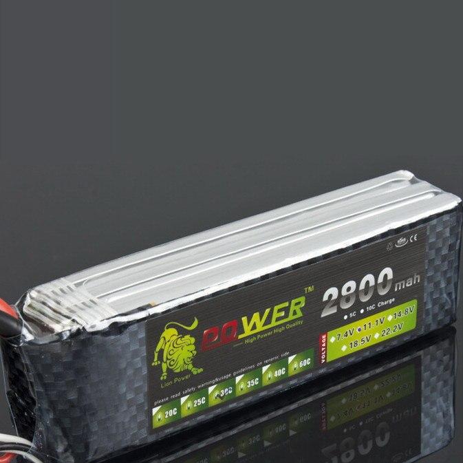 Lion Power 11.1v 2800MAH Batteries For remote controul aircraft T/XT60/JST Plug 30c toy Batteries 3S 11.1 v