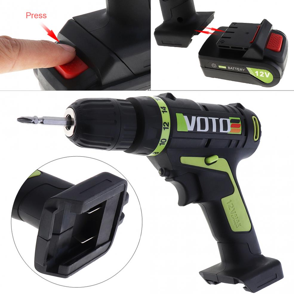 Cheap Price 12v Electric Screwdriver Lithium Battery Rechargeable Parafusadeira Furadeira Multi-function Cordless Electric Drill Power Tools Clients First Power Tools Electric Screwdrivers