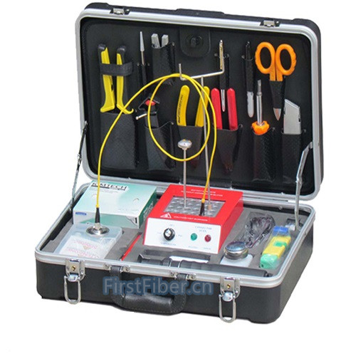 FirstFiber Fiber Tool Kit Kit Fibra Optica Field Quick Termination Tool Kit Connector Heat Oven Ftth Tool