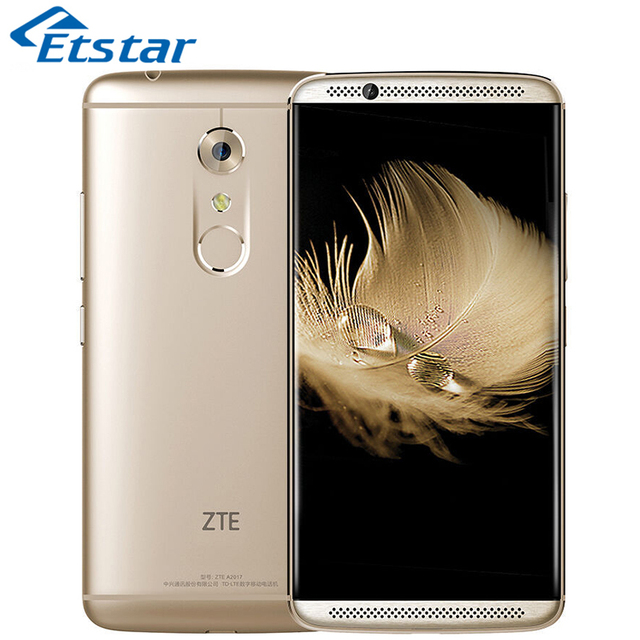 Original ZTE Axon 7 A2017 Mobile Phone 5.5'' 2K Display Snapdragon 820 Quad Core 4GB RAM 64GB ROM 20.0MP Camera Android 6.0