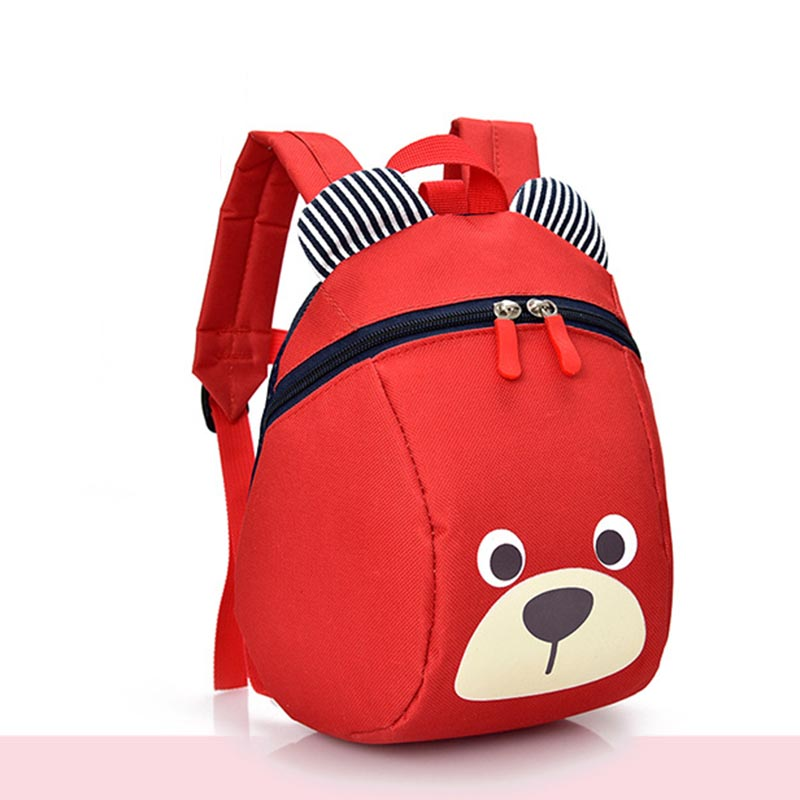 Kindergarten Baby Boy Girl Backpack Fashion Cartoon Cute Anti-lost Child School Bag 1-6T