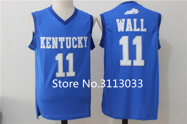 order 23 anthony davis 11 john wall 4 rajon rondo kentucky wildcats college  basketball jersey all b45605f09