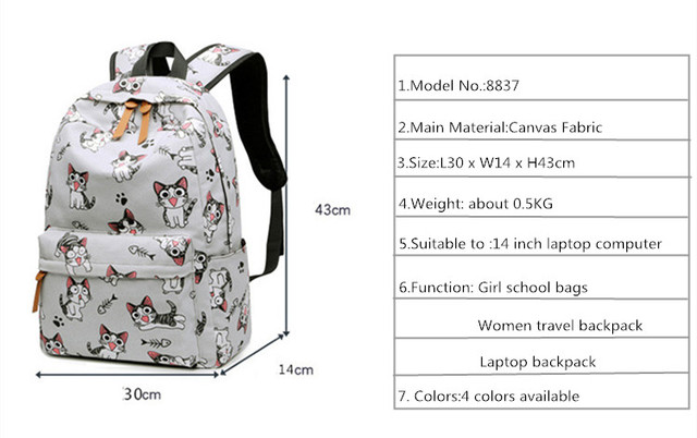 Girls Schoolbag