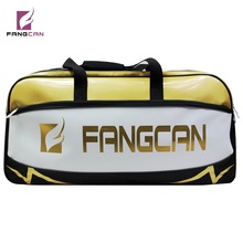 Check Price 1 pc FANGCAN FC1404 Multi-fuctional Square Sports Bag Huge Capacity Tyrant Golden Badminton Tennis Squash Racket Bag