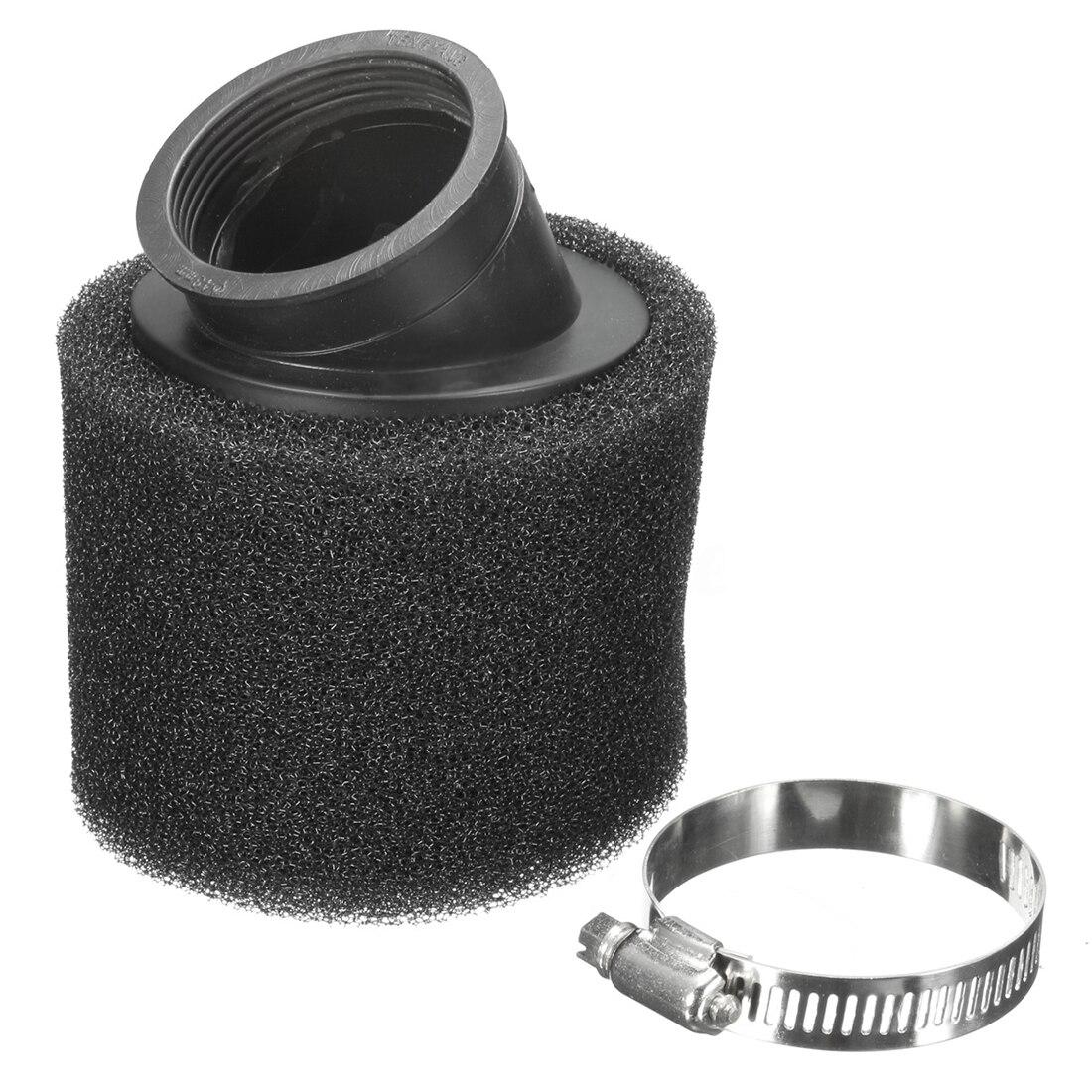 48mm UNIVERSEL Mousse INDUCTION D'ADMISSION Filtre À Air kit de Nettoyage noir Moto