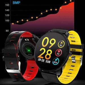 Image 4 - Super Slim Smart Watch Men IP68 Waterproof Sports Smartwatch Men Clock Heart Rate Monitor Fitness Bracelet reloj inteligente K9